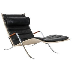 Grasshopper Chaise Lounge by Fabricius Kastholm for Lange Production