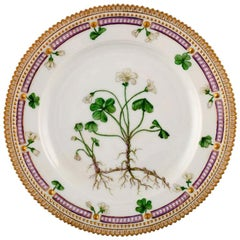 Royal Copenhagen Flora Danica Lunch Plate Model Number 20/3550