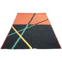 Mid-Century Modern Kilim Rug by Antonin Kybal, 1950s