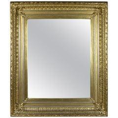 Late Golden Biedermeier Mirror, Austria, circa 1860