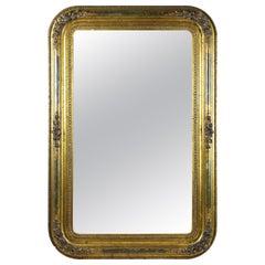 Gilt Biedermeier Wall Mirror, Austria, circa 1840