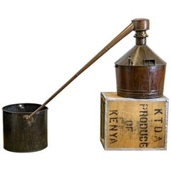 Early 20th Century Copper Spirit Moonshine Still