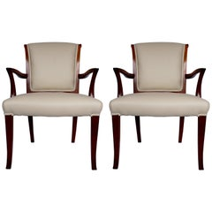 Pair of Art Deco Side Chairs