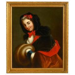 18th Century Portrait of Louise Henriette De Bourbon