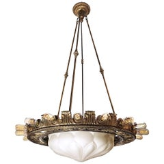 Spectacular 22 Bulb Marquee Style Chandelier