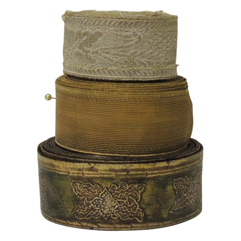 Antique Textiles Collection of Decorative Trims For Sale