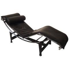 "Le Corbusier ""LC4"" Cassina Lounge Chair"