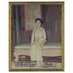 20th centuey Thailand Solid Silver Gilt & Niello Photo Frames Bangkok Circa 1968