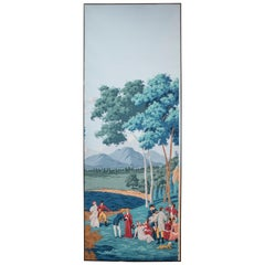 De Gournay Painted  Wallpaper from Duarte Pinto Coelho Collection