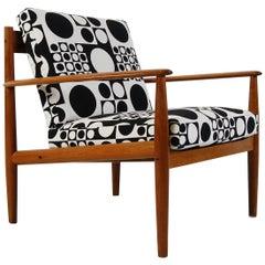 1960s Danish Teak Easy Chair Model 118 Grete Jalk for France & Son Verner Panton