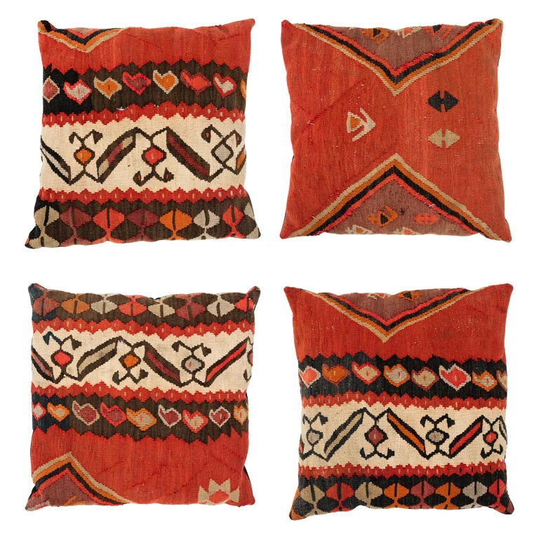Set of Turkish Fabric Pillows For Sale