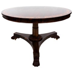 English Regency Style Center Table