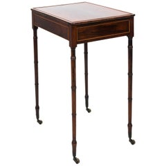 Rosewood English Regency Writing Table