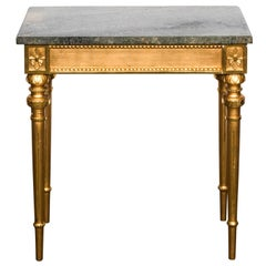 Gustavian Style Giltwood Console Table