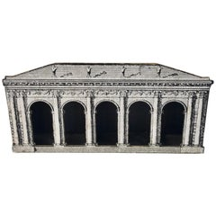 Fornasetti Style Architectural 5 Arch Display