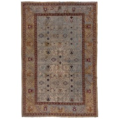 Antique Agra Carpet, circa 1900s