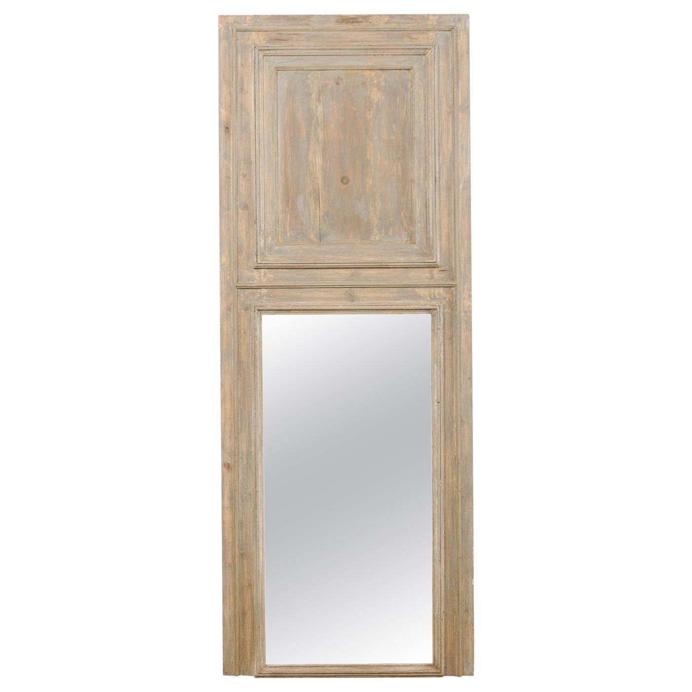 French 19th Century Trumeau Mirror