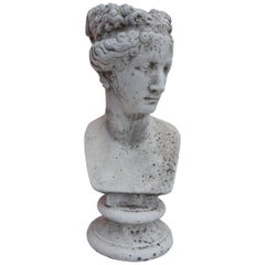 19th Century Italian Renaissance Style Bust of Venus Goddess of Love and Victory