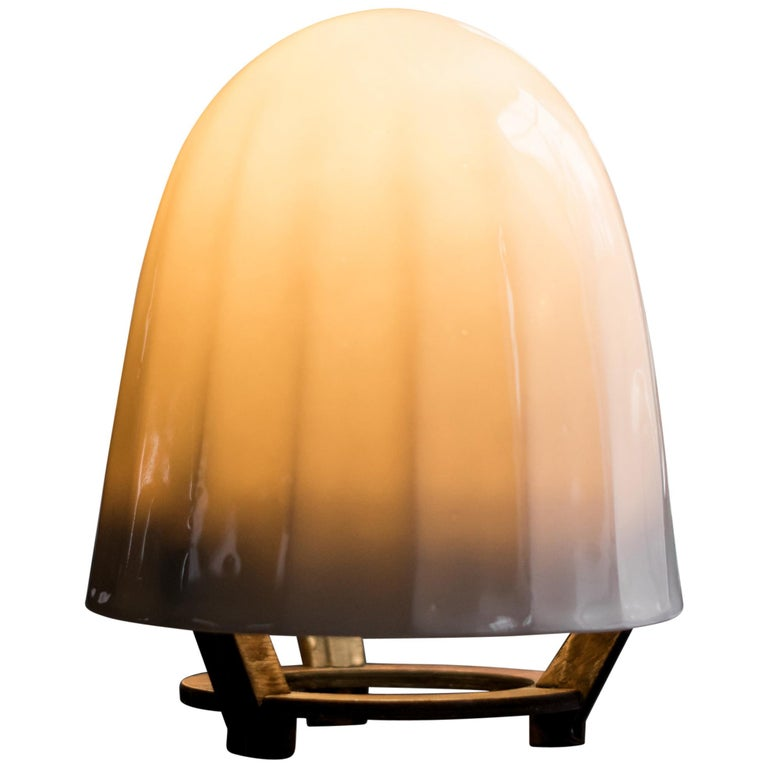 Sense Lamp Modern Contemporary Touch-Sensitive Handmade Table Lamp For Sale