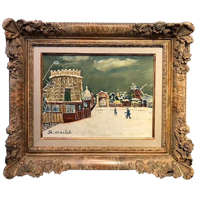 Painting by Elisee Maclet '1881-1962'