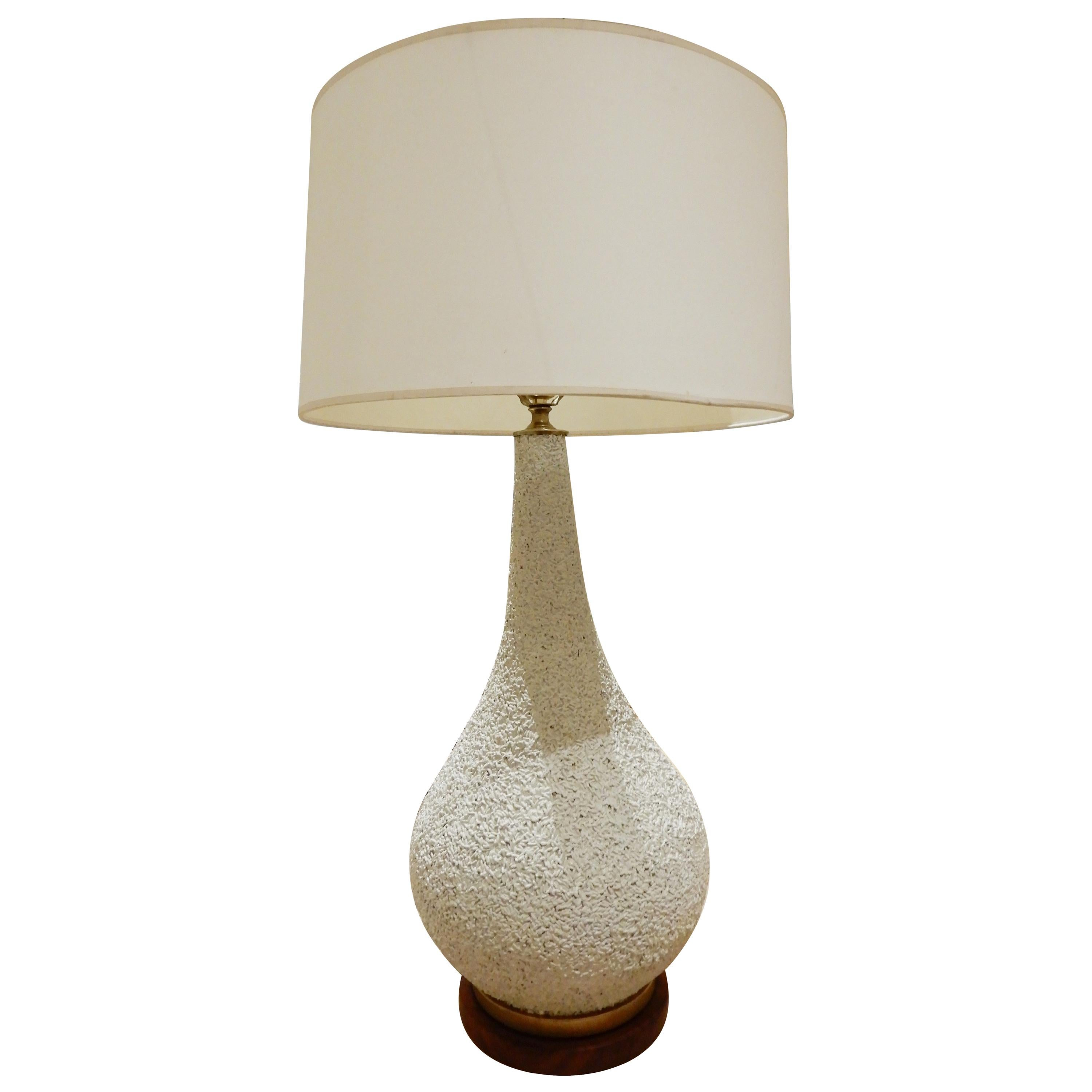 1950s Plaster Organic Form Lamp in the Manner of Jean Michel Frank