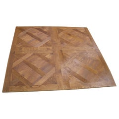 French Solid Wood Oak Flooring 'Parquet De Versailles' Handmade, France