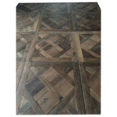Versailles Antique Wood Oak Flooring 'Panels', Paris, France