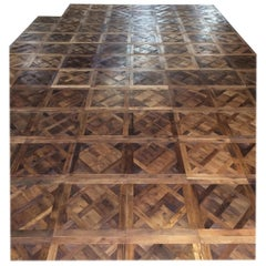 French Parquet de Versailles Style Antique Oak Handmade French Tradition, France