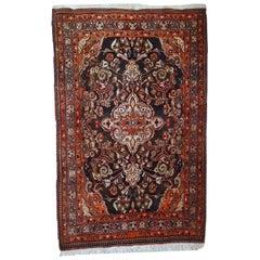 Handmade Vintage Tabriz Style Rug, 1950s, 1C423