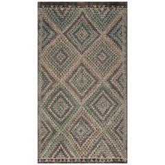 Antiker Türkischer Kilim Teppich