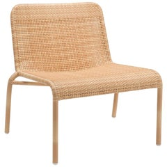 Rattan Braided Resin French Design and Lounge Armchair