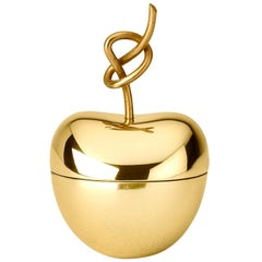 Ghidini 1961 Knotted Cherry Small Box in Brass by Nika Zupanc