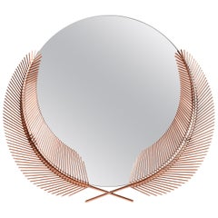 Ghidini 1961 Sunset Medium Mirror in Copper-Plated Brass by Nika Zupanc