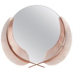 Ghidini 1961 Sunset Medium Mirror in Copper-Plated Brass by Nika Zupanc