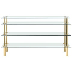 Ghidini 1961 Legs Console Table in Crystal by Paolo Rizzatto