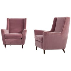 Set of 2 Rosa Ico Parisi  Armchairs, 1950s, Italy