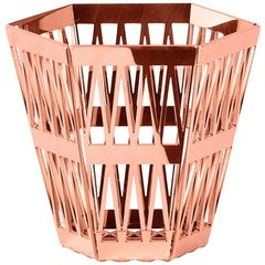 Ghidini 1961 Tip Top Pencil Holder in Rose Gold by Richard Hutten