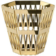 Ghidini 1961 Tip Top Pencil Holder in Gold by Richard Hutten