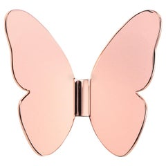 Ghidini 1961 Single Butterfly Coatrack in Rose Gold by Richard Hutten