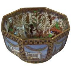 Small Wedgwood Fairyland Lustre 'Dana' Octagonal Bowl