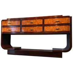 Italian Midcentury Rosewood Sideboard Consolle, 1950