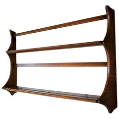 Ercol Light Elm Plate Rack, 1950s UK