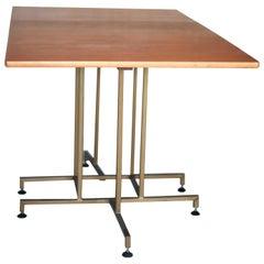 Gateleg, Drop Side Teak Dining Table