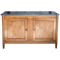 Early 19th Century French Directoire Walnut Buffet