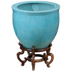 Large Chinese Export Planter