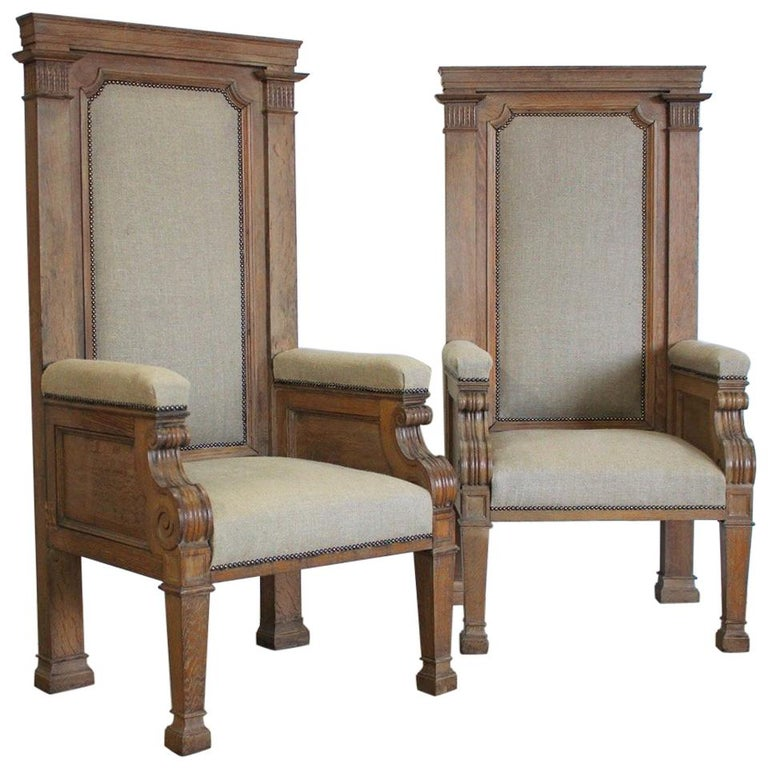 Pair of Late 19th Century English Chairs For Sale