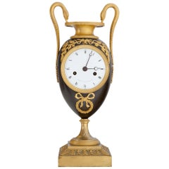 Empire Clock, Signed Griebel, France, First Quarter of the 19th Century