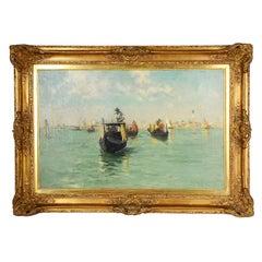 Edmund Aubrey Hunt, Venetian Gondolas