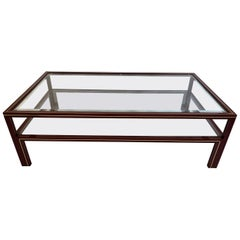 Two-Tier Coffee Table by Pierre Vandel