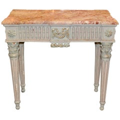 19th Century French Louis XVI Console